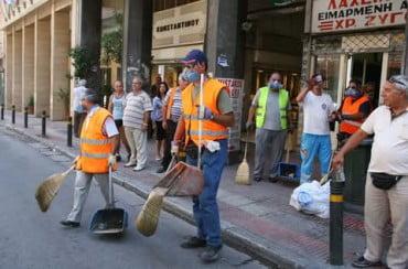 Δήμος Αθηναίων: Για την καθαριότητα οι περισσότερες καταγγελίες το 2013