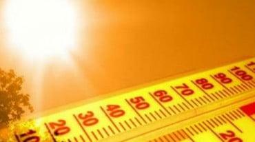 Μινι καυσωνας σήμερας- Εως 41 βαθμούς κελσίου ο υδράργυρος!