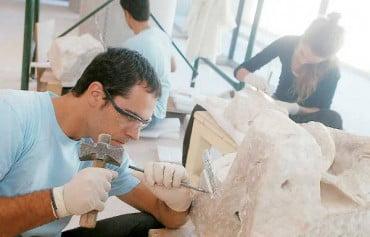 Συντηρητές Αρχαιοτήτων στα Μέγαρα