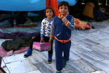 Θεσσαλονίκη: Συγκέντρωση ειδών πρώτης ανάγκης για τους πρόσφυγες