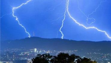 Ερχονται ισχυρές βροχές και καταιγίδες