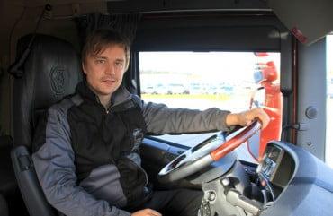 Οδηγός λεωφορείου στο Strausberg της Γερμανίας