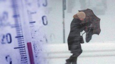Έρχεται τσουχτερό κρύο -Αναλυτική πρόγνωση καιρού για σήμερα Δευτερα
