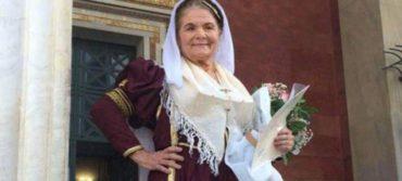 Ορκίστηκε φοιτήτρια, ετών 62 με παραδοσιακή σχολή στο Καποδιστριακό