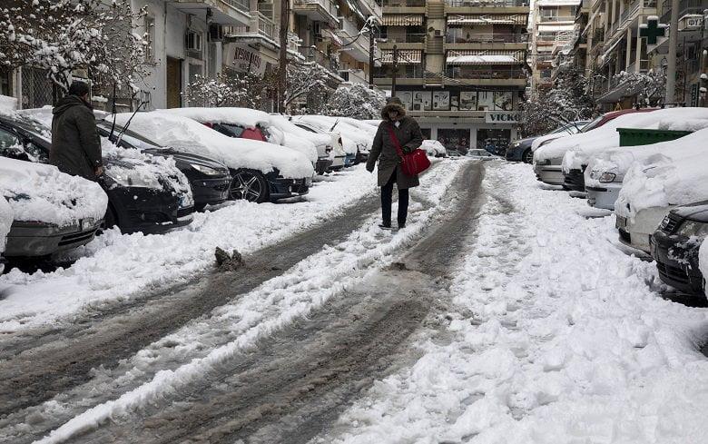 «Αγριεύει» ο καιρός: Έρχονται χιόνια το Σαββατοκύριακο
