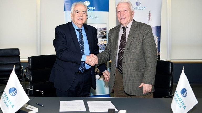 Τα ΕΛΠΕ και το Παν/μιο Δυτικής Αττικής υπέγραψαν τριετή στρατηγική συνεργασία